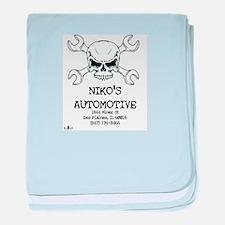 Nikos Auto baby blanket