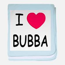I heart Bubba baby blanket