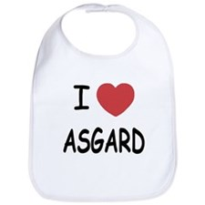 I heart Asgard Bib