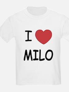 I heart Milo T-Shirt
