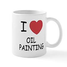 I heart oil painting Mug