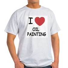 I heart oil painting T-Shirt