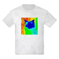 DollyCat Neon Verse - Ragdoll Cat - T-Shirt