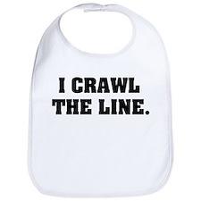 I crawl the line Bib