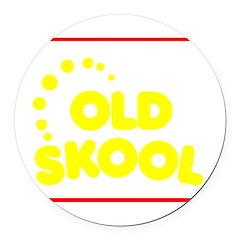 ols_school Round Car Magnet