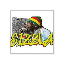 """sizzla Square Sticker 3"""" x 3"""""""