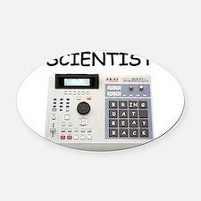SCIENTIST. Oval Car Magnet