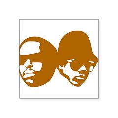 b-boy Square Sticker 3