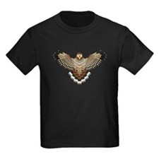 Beadwork Red-Tailed Hawk T