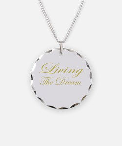 Living the Dream Gold Necklace