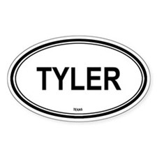 Tyler (Texas) Oval Decal