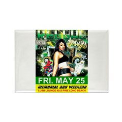 FOUNDATION REGGAE FRIDAYS LONG BEACH Rectangle Mag