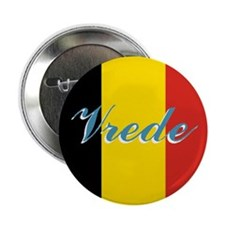 """Belgian Peace 2.25"""" Button"""