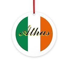 "Irish Flag ""Love"" Ornament"