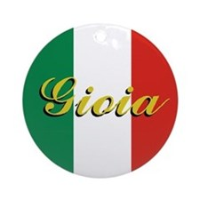 "Italian Flag ""Joy"" Ornament"