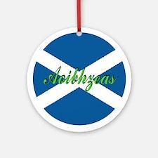 "Scottish Flag ""Joy"" Ornament"