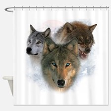 wolves.png Shower Curtain