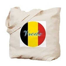 Belgians 4 PEACE Tote Bag