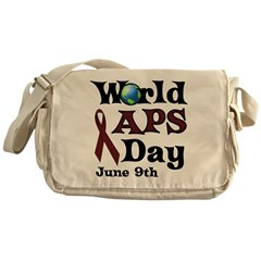 June 9th is World APS Day Messenger Bag