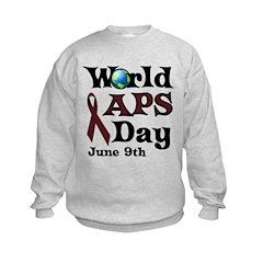 June 9th is World APS Day Sweatshirt