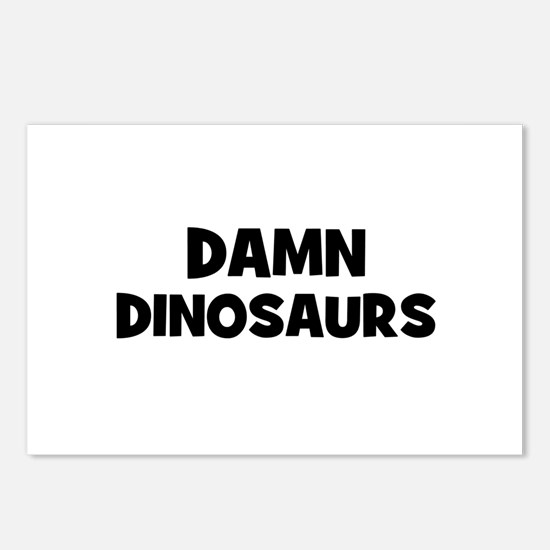 Damn Dinosaurs Postcards (Package of 8)