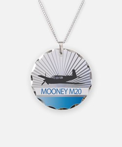 Aircraft Mooney M20 Necklace