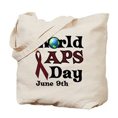 June 9th is World APS Day Tote Bag