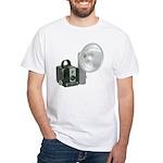 The Brownie Hawkeye Flash Model White T-Shirt