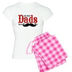 Best Dads Have Mustaches Women's Light Pajamas