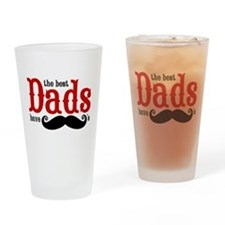 Best Dads Have Mustaches Drinking Glass