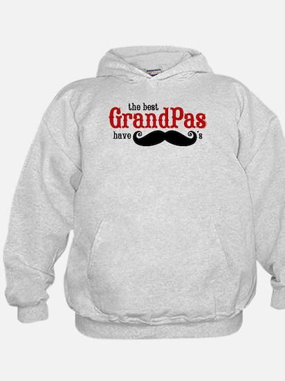 Best Grandpas Have Mustaches Hoodie