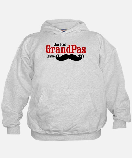 Best Grandpas Have Mustaches Hoody