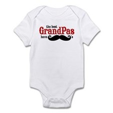 Best Grandpas Have Mustaches Onesie