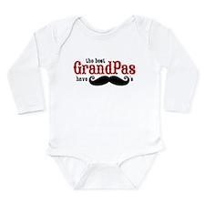 Best Grandpas Have Mustaches Baby Suit
