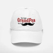 Best Grandpas Have Mustaches Baseball Baseball Cap