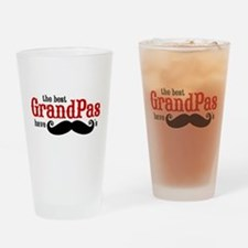 Best Grandpas Have Mustaches Drinking Glass