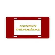 Jacobite Aluminum License Plate