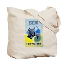 Sew AND Quilt For Victory Tote Bag