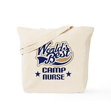 Camp Nurse Gift Tote Bag