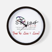 Sacred Circle Wall Clock