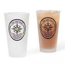 Chil Sung Kwan Federation Logo Drinking Glass
