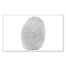 Finger print Decal