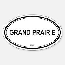 Grand Prairie (Texas) Oval Decal