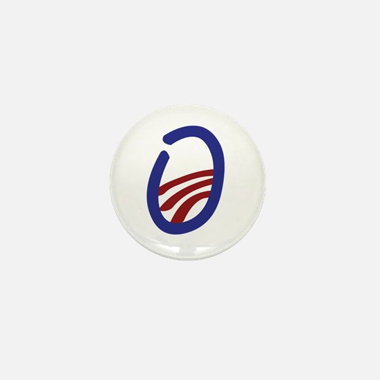 Obama O 2012 Mini Button