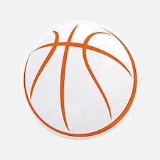 "Basketball 3.5"" Button (100 pack)"
