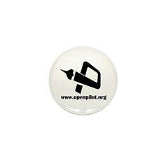 OP Logo with URL Mini Button (100 pack)