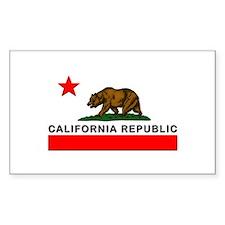 California Republic Decal