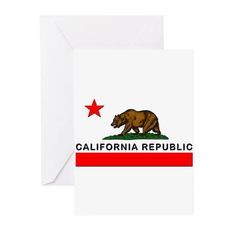 California Republic Greeting Cards (Pk of 10)