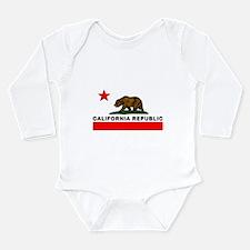 California Republic Long Sleeve Infant Bodysuit
