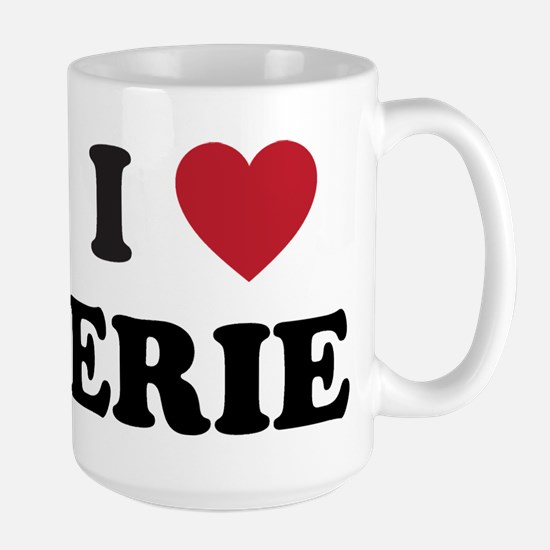 I Love Erie Pennsylvania Large Mug